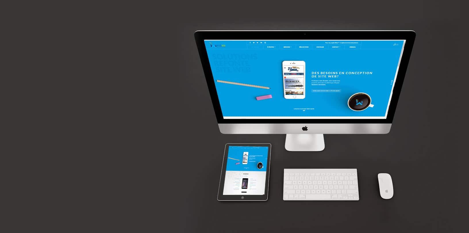 Conception site web